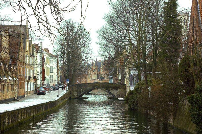 Canales de Brujas. fotografía de archivo