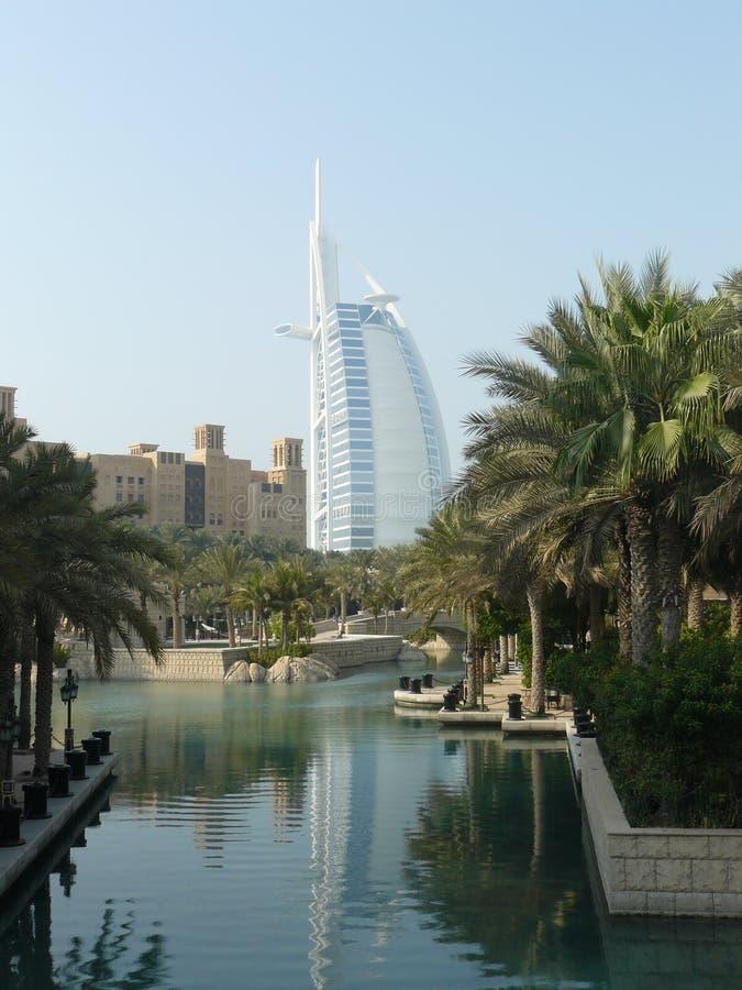 Canali del Dubai fotografia stock libera da diritti