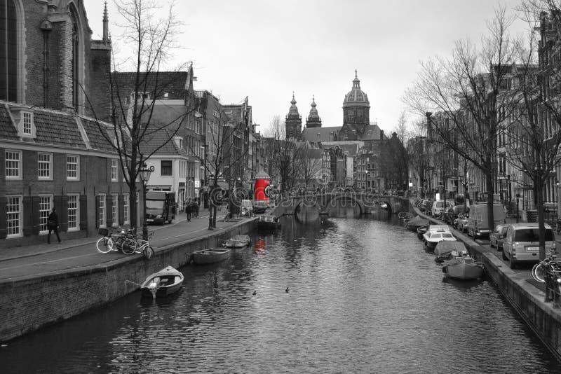 Canali di Amsterdam obrazy stock