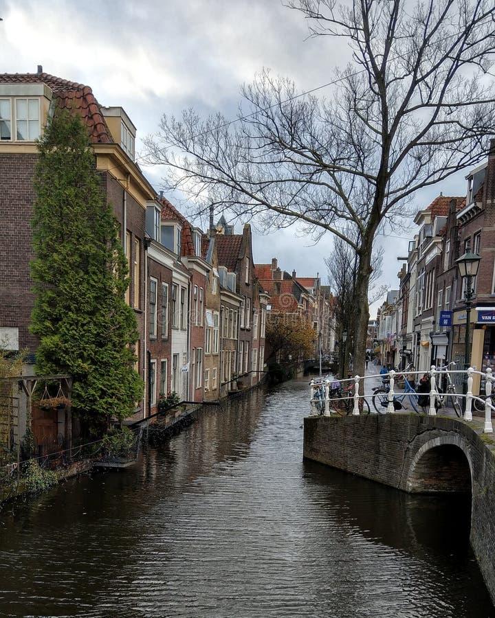 Canali di Delft immagine stock libera da diritti