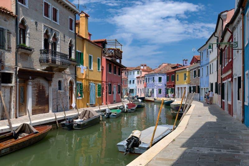 Canali Di Venezia, Burano, Italy Free Public Domain Cc0 Image