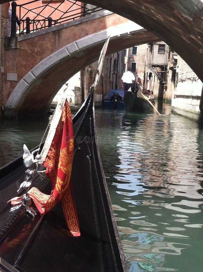 Canali di Venezia, Italia immagine stock