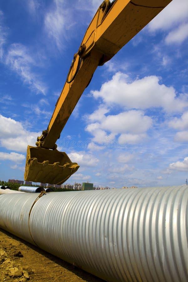 Canalisation de drainage image stock