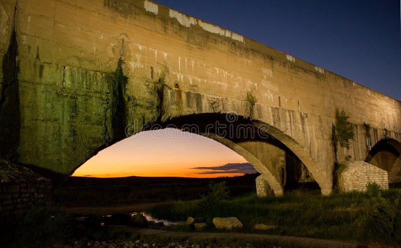 Canalisation de la rivière Pecos photo stock