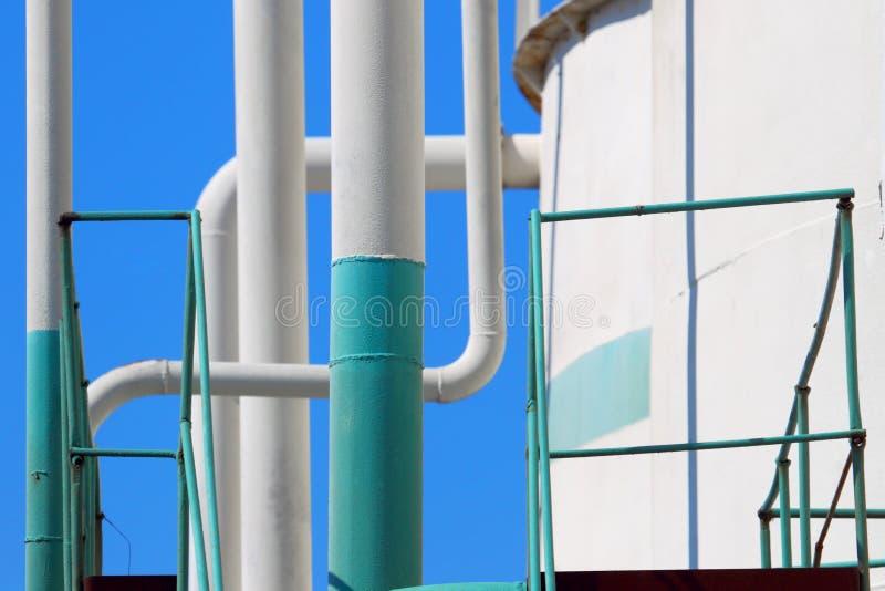 Canalisation industrielle photo libre de droits