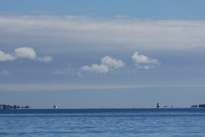 Canalisation ronde d'île photos libres de droits