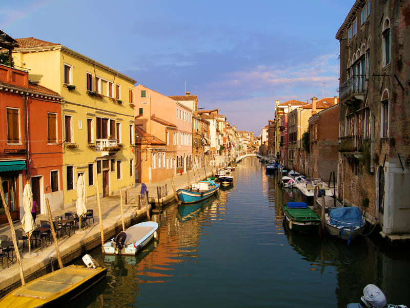 Download Canals of Venice stock image. Image of heritage, dusk - 24105373