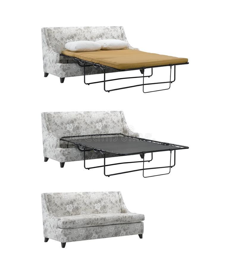 Canapé-lit photographie stock libre de droits