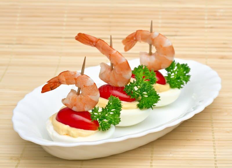 Download Canape stock photo. Image of shrimp, close, food, filo - 27817962