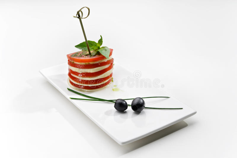 canape sera pomidor obraz royalty free