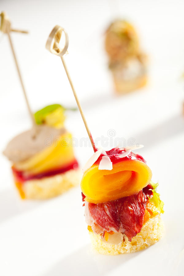 Free Canapes Royalty Free Stock Photos - 42971818