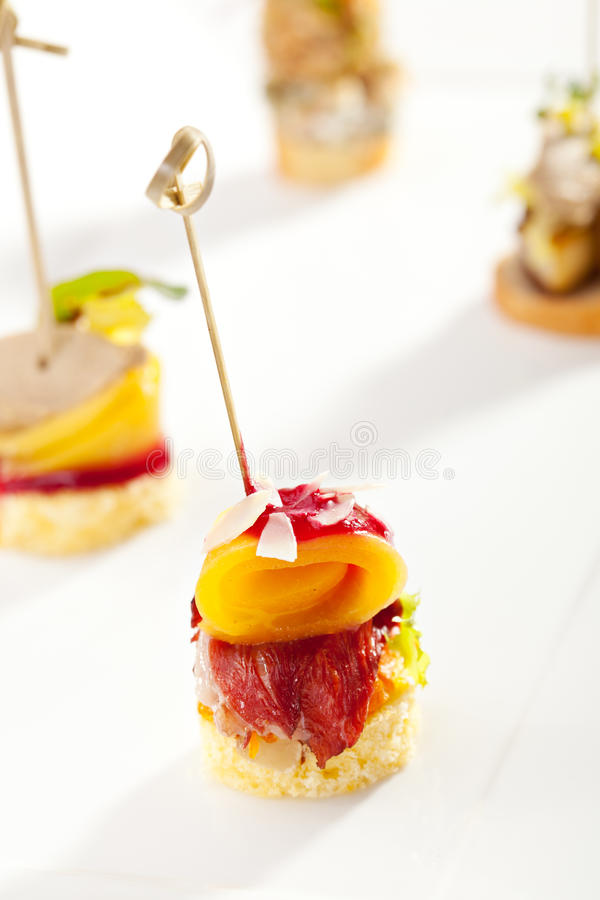 Free Canapes Stock Images - 45301024
