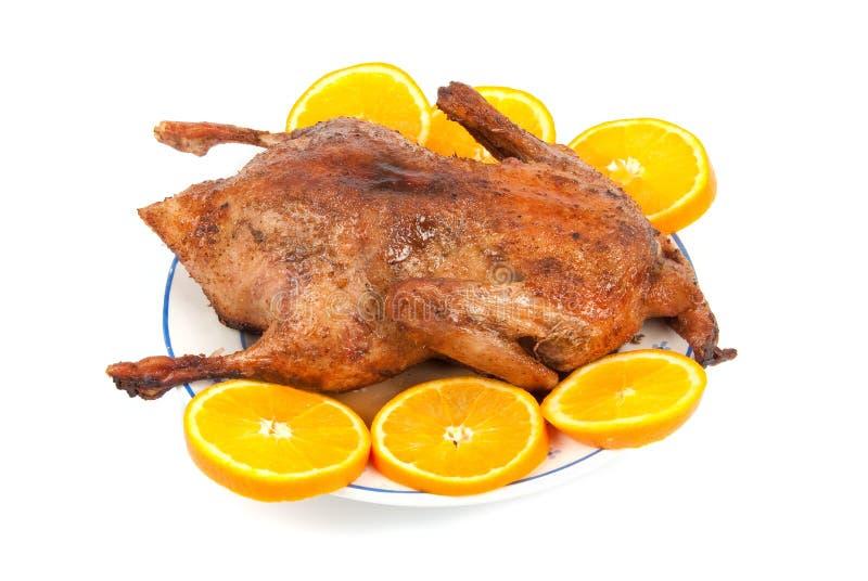 canard cuit au four photo libre de droits
