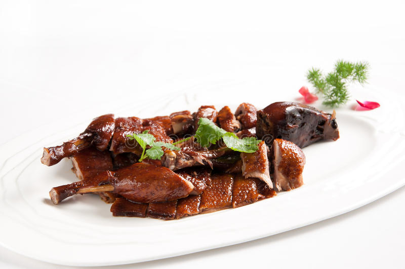 Canard de Hangzhou en sauce à Brown images stock