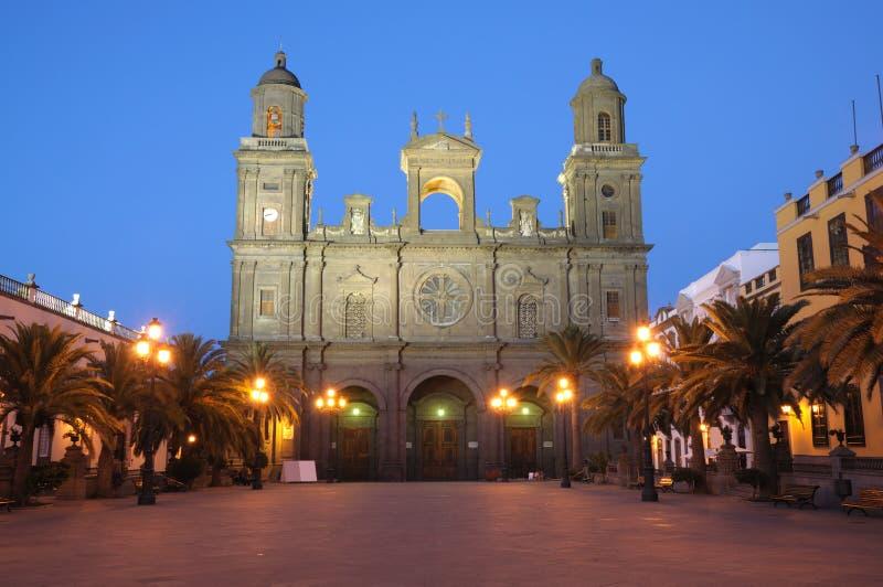 canaria καθεδρικός ναός de gran Λας Π στοκ φωτογραφία με δικαίωμα ελεύθερης χρήσης