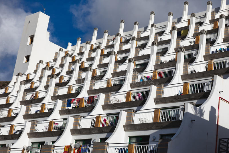 canaria σύνθετο gran ξενοδοχείο Π&om στοκ φωτογραφία με δικαίωμα ελεύθερης χρήσης