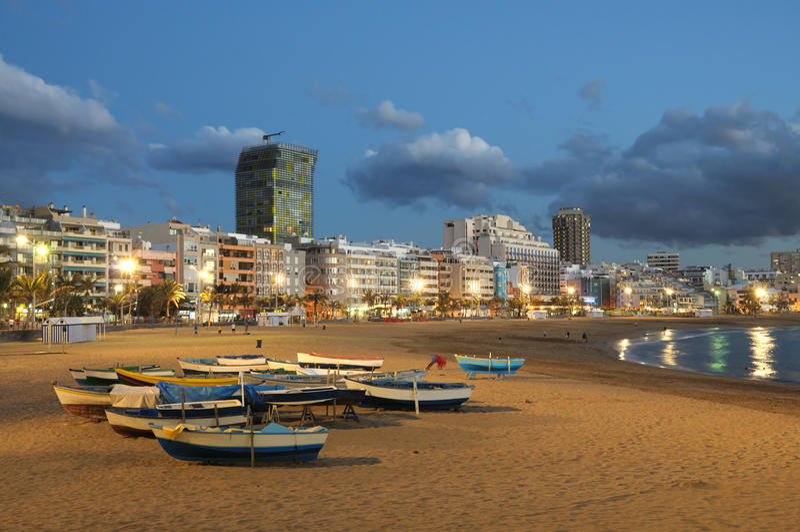 canaria de gran Las Palmas fotografering för bildbyråer