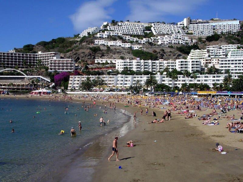 canaria granu puerto rico fotografia royalty free