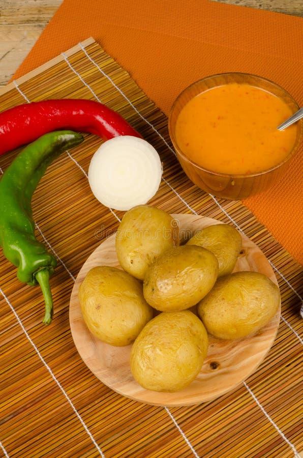 Canarian kuchnia obrazy royalty free