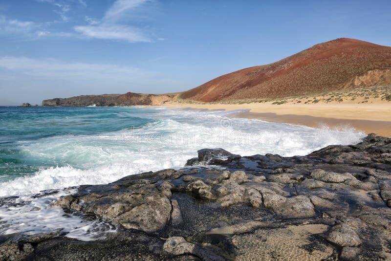 Canarias di isla di lambra di Playa immagine stock