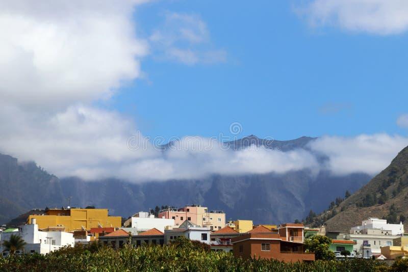 Canary Island La Palma in vista di Caldera fotografie stock libere da diritti