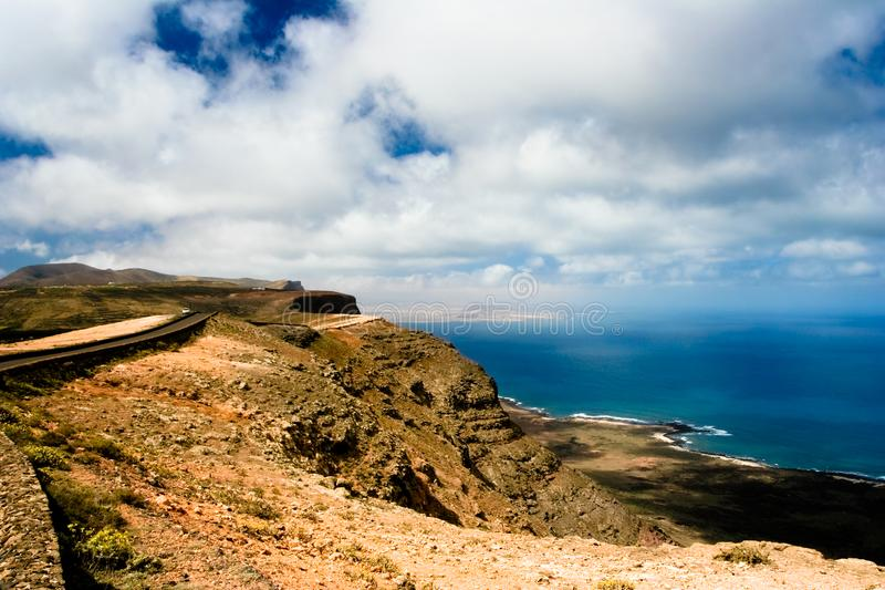 Canary island Lanzarote royalty free stock image