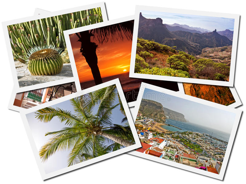 Download Canary Islands Photo Collage Stock Photo - Image of collage, scenic: 11408872