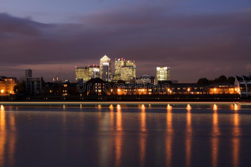 Download Canary Wharf editorial stock photo. Image of skyline - 11705183