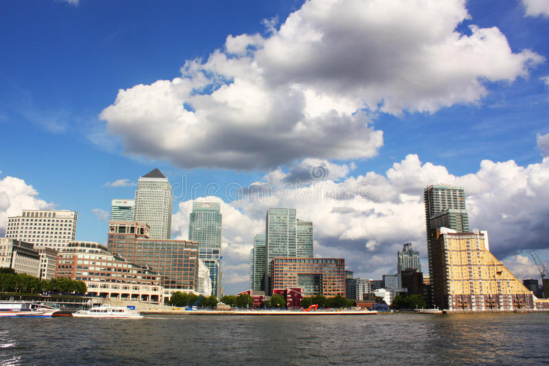 Download Canary Wharf editorial stock image. Image of outdoor - 19322374