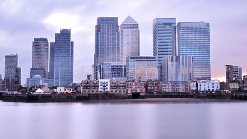 Canary Wharf royalty free stock photo
