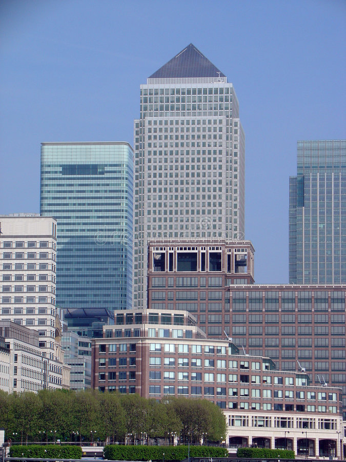 Download Canary Wharf stock photo. Image of britain, river, isle - 2341728