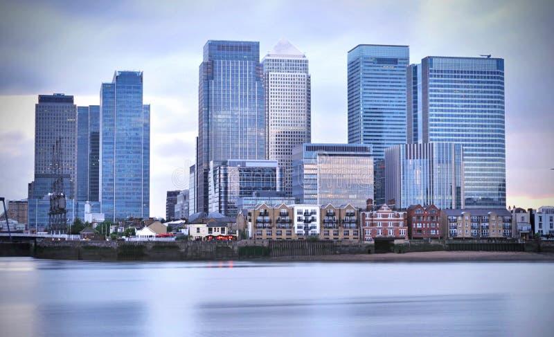 Canary Wharf photographie stock