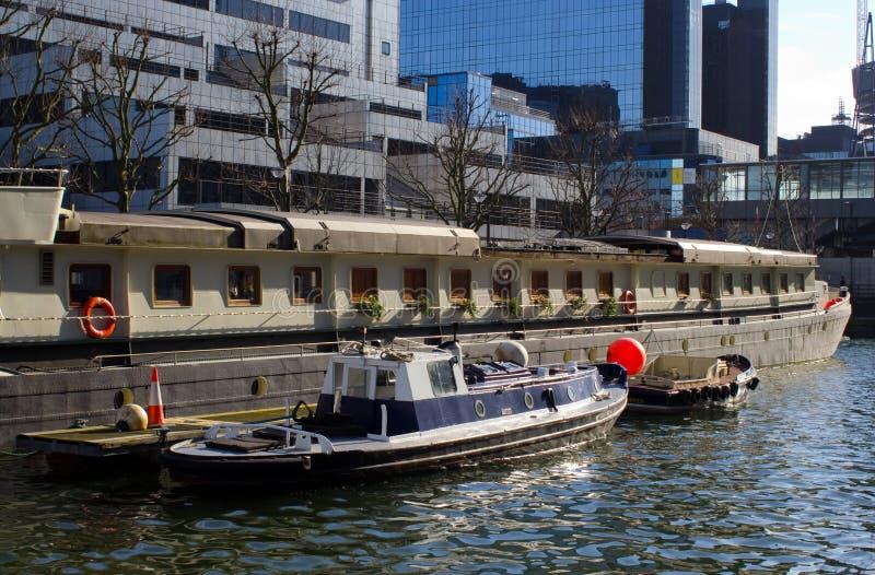 Canary Wharf lizenzfreies stockfoto