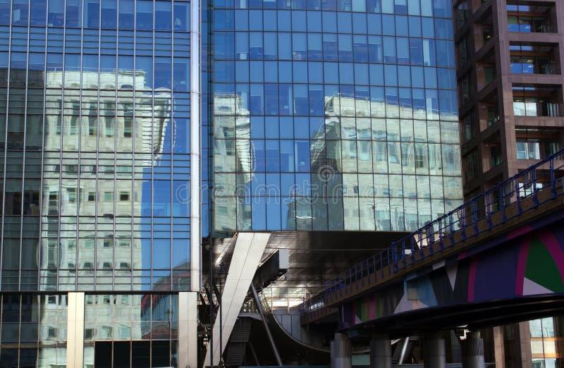 Canary Wharf lizenzfreie stockbilder