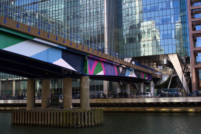 Canary Wharf stockfotos