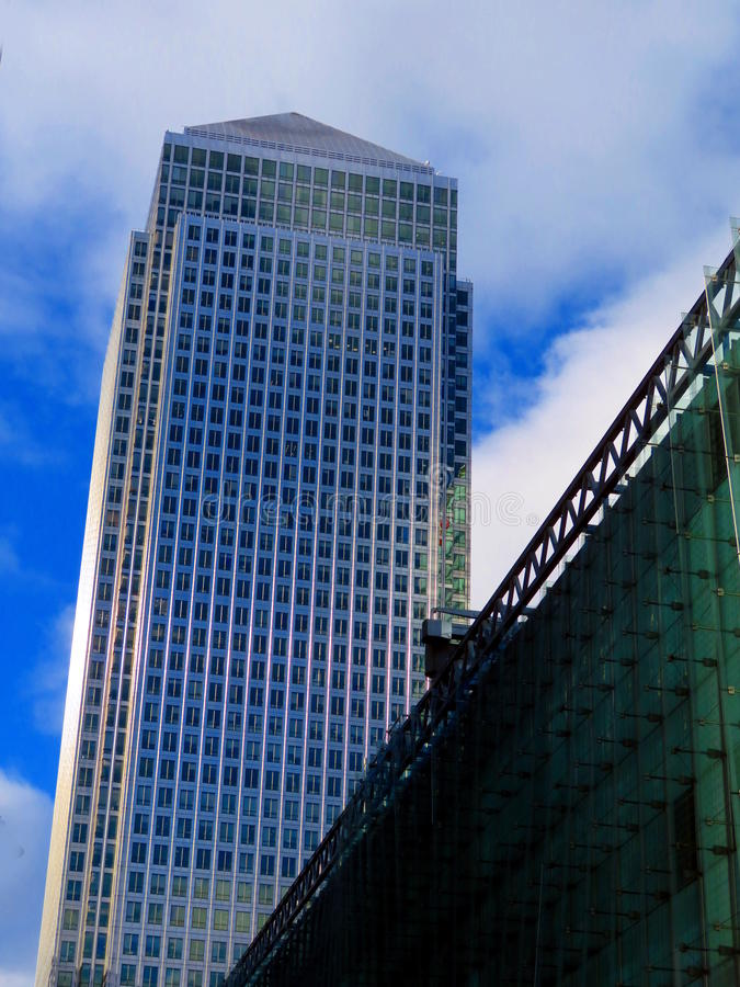 Canary Wharf imagens de stock royalty free