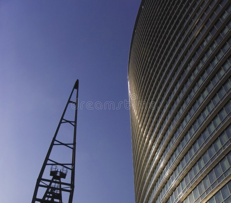 Download Canary wharf docklands stock image. Image of corporation - 1405473