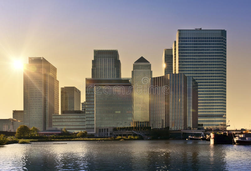 Canary Wharf, London royalty free stock images