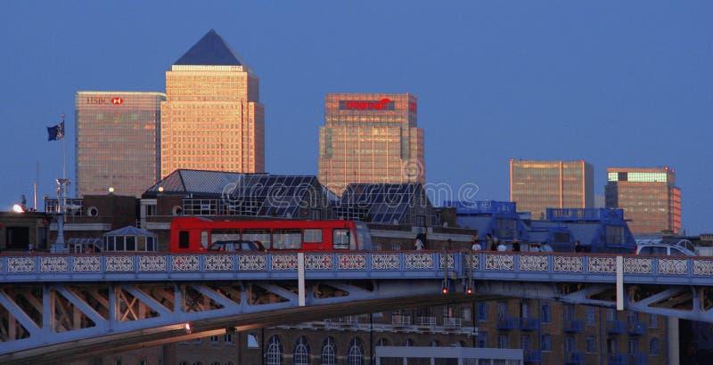 Canary Wharf, London stockfoto