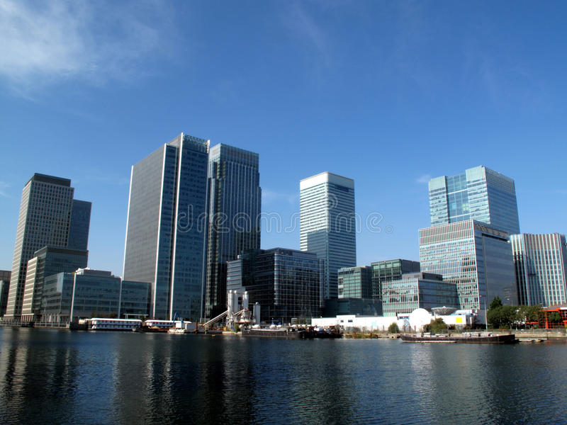 Download Canary Wharf In London's Docklands Stock Photos - Image: 11688673