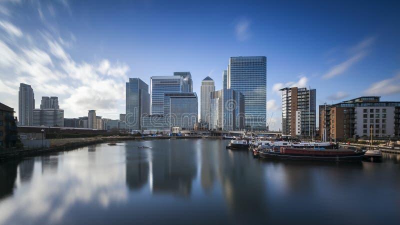 Canary Wharf, Londra fotografia stock
