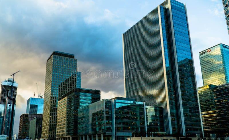 Canary Wharf obraz royalty free