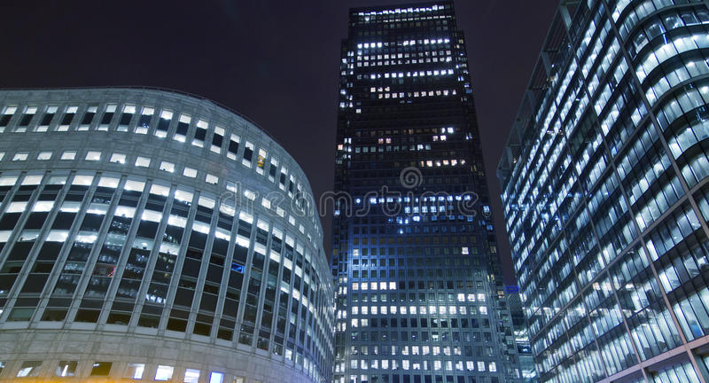 Download Canary Wharf Office Buildings Stock Image - Image of center, modern: 36339397