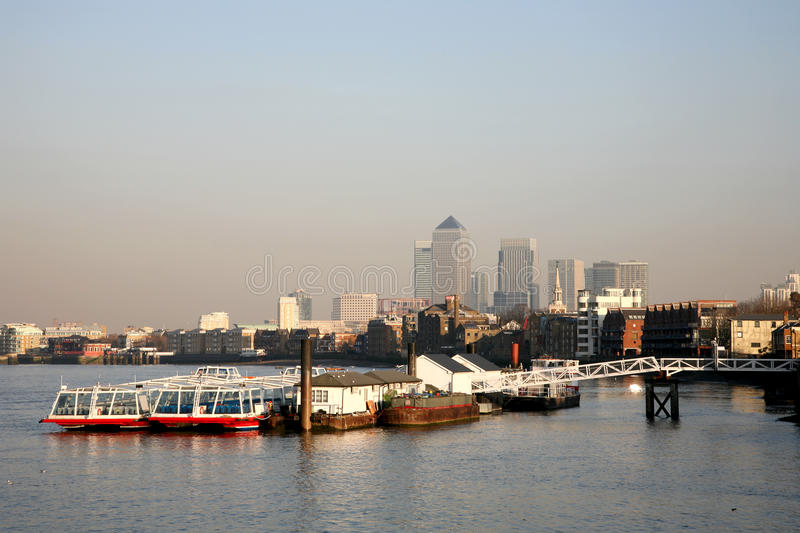 Download Canary Wharf Skyline stock photo. Image of capital, building - 19778762