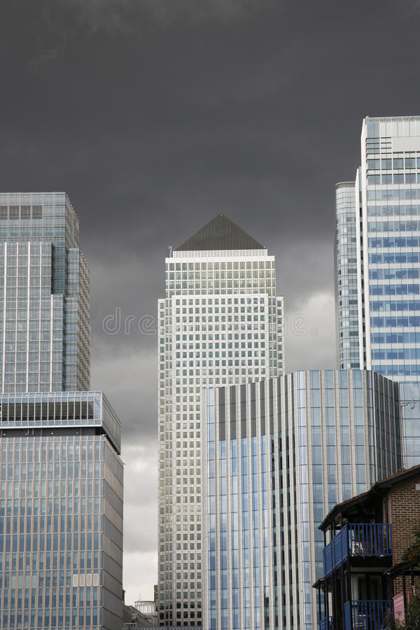 Download Canary Wharf Skyline stock photo. Image of finance, bank - 21001880