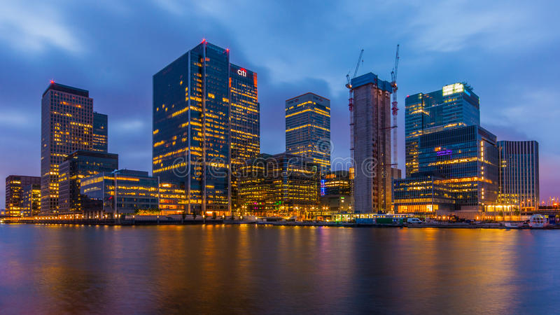 Canary Wharf stock images