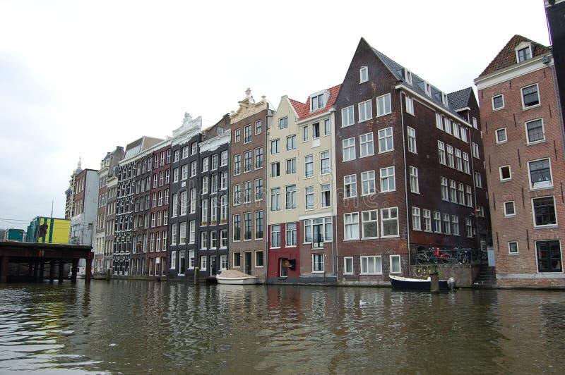 canaux d'Amsterdam néerlandais image stock