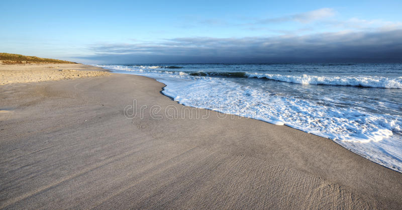 Canaveral National Seashore. In the Morning royalty free stock photography