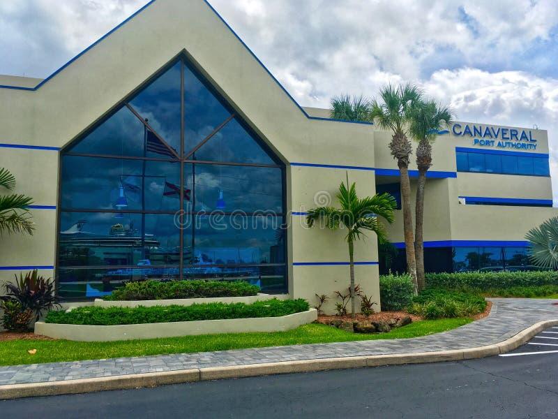 Canaveral Port Authority budynek obraz stock