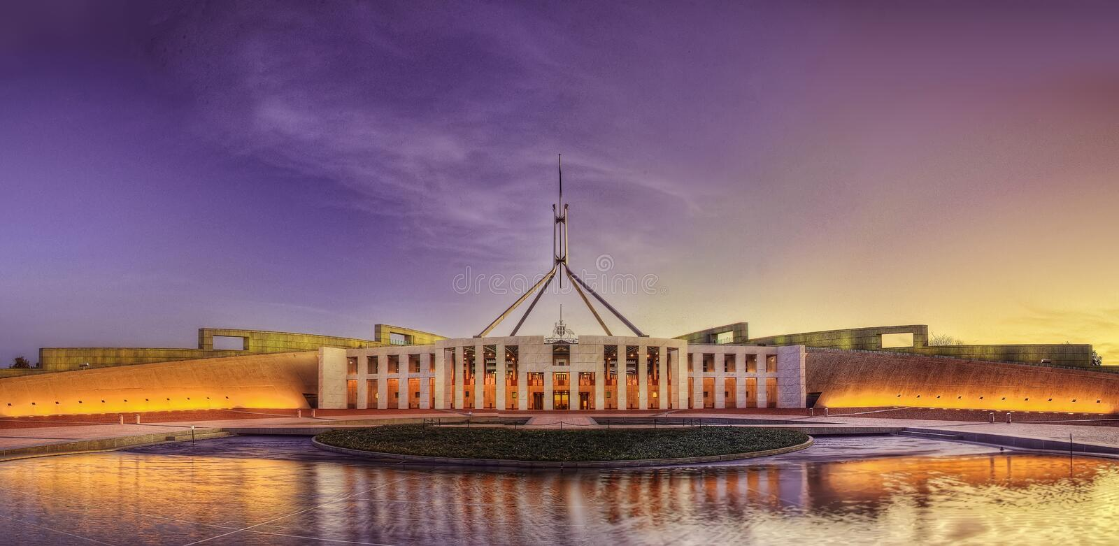 canberra photo stock